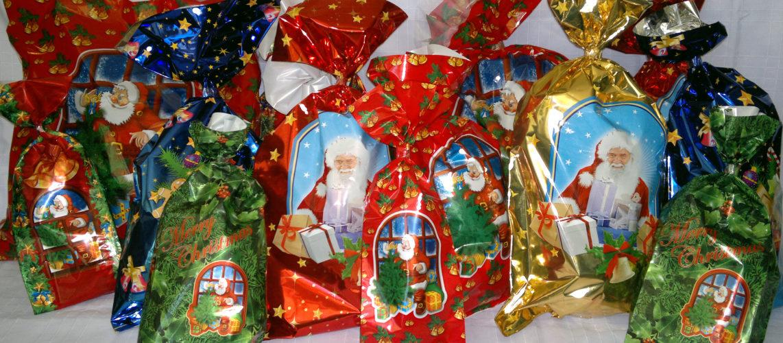 Torebki na prezenty świąteczne